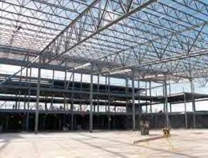 Structural Steel-Industrial building